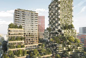 a.s.r. real estate koopt na kantoren ook woningen Wonderwoods in Utrecht
