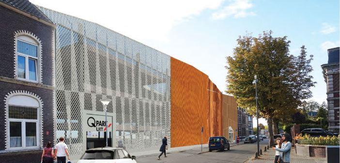 Nieuwe Q-Park parkeergarage in Venlo: Blok van Gendt