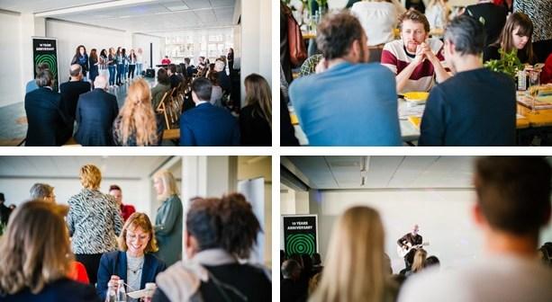 10-jarig jubileum Vereniging Rotterdam Central District succesvol van start met lunchconcert in het Groot Handelsgebouw