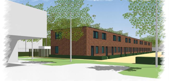 Start bouw 15 energieneutrale woningen Eerste Groenelaan
