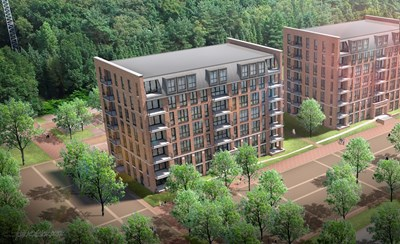 Bouwinvest investeert in 90 appartementen op kazerneterrein Ede