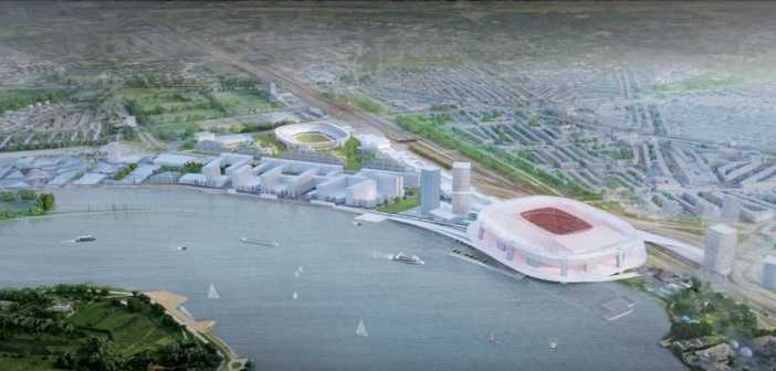 Volgende stap gebiedsontwikkeling Feyenoord City