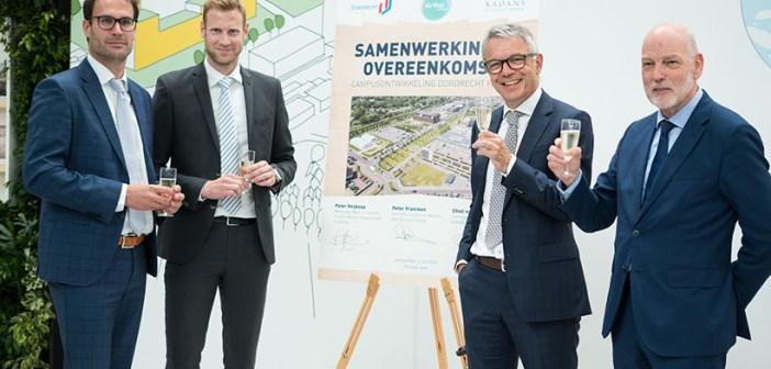 Coöperatie Leerpark en Kadans bekrachtigen samenwerking campusontwikkeling Dordrecht