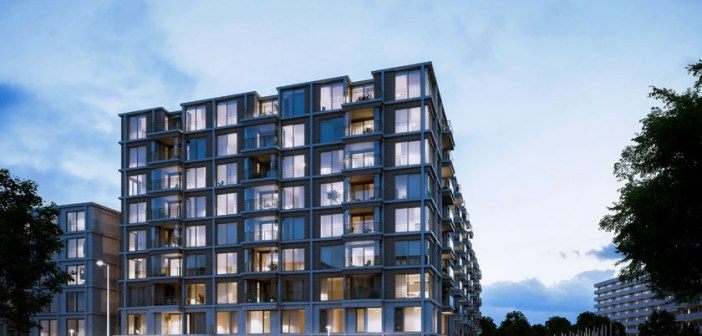 Nieuwbouwontwikkeling The OX in Amsterdam verkocht aan Vesteda