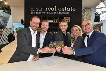 a.s.r. real estate start pilot met elektrische deelauto's van Amber