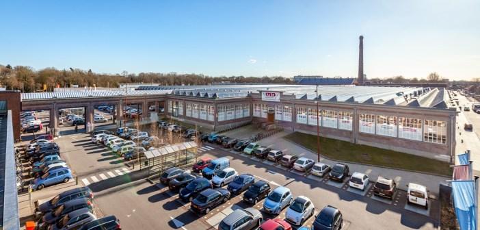 Sanitairwinkel.nl en Stella Fietsen huren op AaBe Fabriek Tilburg