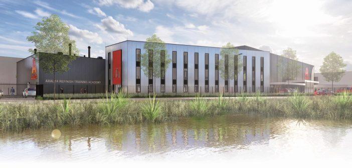 Eerste paal geslagen nieuwbouw Axalta Refinish Nederland