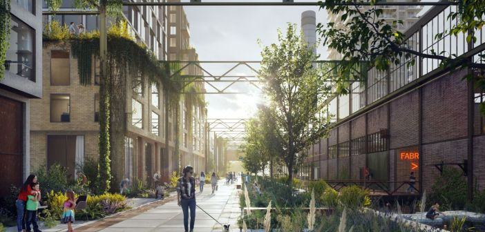 Kabeldistrict start transformatie Schieoevers in Delft