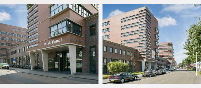 Rijksvastgoedbedrijf koopt Pas de Deux I & II van 8.600 m² te Zwolle