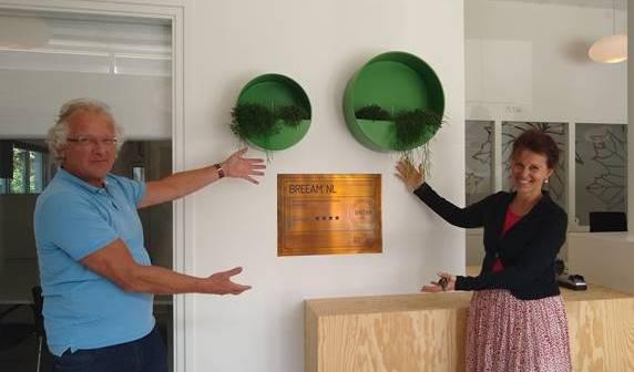 Kennemer Wonen is eerste woningcorporatie in Nederland met BREEAM Certificaat Excellent
