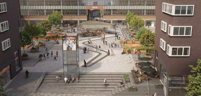 Plannen herontwikkeling Bos en Lommerplein gepresenteerd