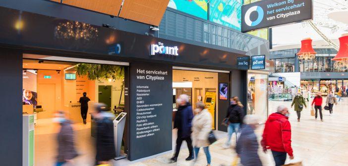 Wereldhave opent service concept 'The Point' op Cityplaza met vernieuwend pakketpunt