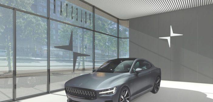 Elektrische autofabrikant Polestar opent nieuwe showroom in Amsterdam