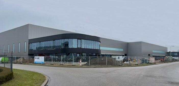 In aanbouw zijnde distributiecentrum aan de Ionweg 1 in Roosendaal is voor oplevering verhuurd
