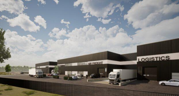 Aan de Stegge Twello en Durfort Vastgoed realiseren nieuwbouw Logistics Court Nieuw-Vennep