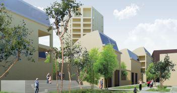 BPD komt met plan 'Drukkerijkwartier' met 200 woningen in Eindhoven
