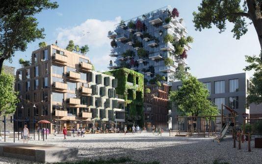 Being verrijkt nieuwe Amsterdamse woonwijk Oostenburg met 144 appartementen
