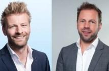 Frank Verwoerd Head of Research en Joep van Vliet Head of Data Intelligence bij CBRE Nederland