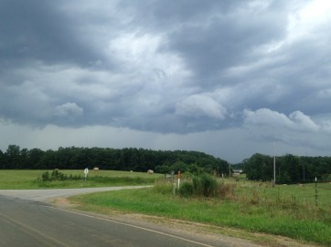 Storm view from NC