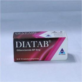 DIATAB Glibenclamide tabs 5mg x 100