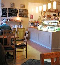 Caféet Socker & Salt i Saltsjöqvarn