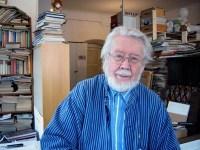 Georg Suttner i ateljén på Mallongen, Södermalm