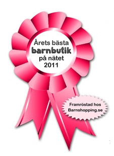 Årets bästa barnbutik på nätet 2011