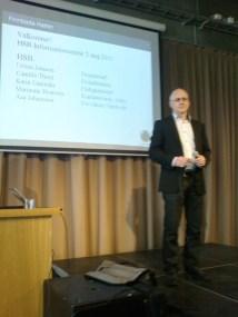 Urban Jonsson, projektledare för HSB i Finnboda