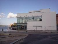 Sjökrogen FB Sea i Finnaboda under uppbyggnad