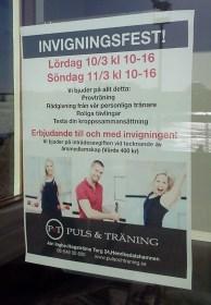 Invigningsfest på Puls & Träning i Henriksdalshamnen