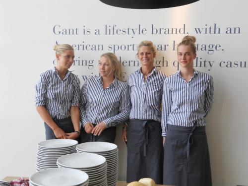 Milou catering serverade 1200 luncher på GANT konferens för återförsäljare