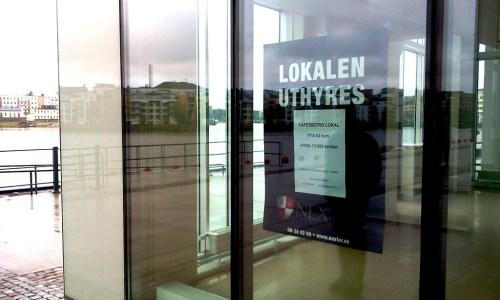 Henriksdalshamnen, Stockholm: ZeeSides lokaler fortfarande lediga