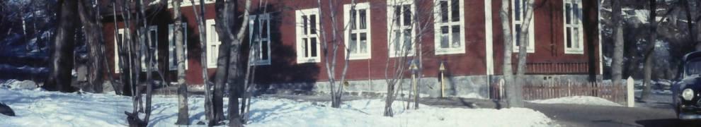 Henriksdal, Nacka: Gamla versionen av Vilans skola revs på 1970-talet
