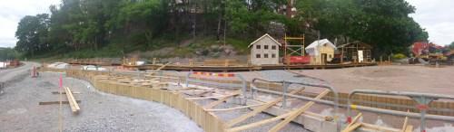 Andrers Franzéns parken in Henriksdalshamnen - Modell av hamnverksamhet för barnen