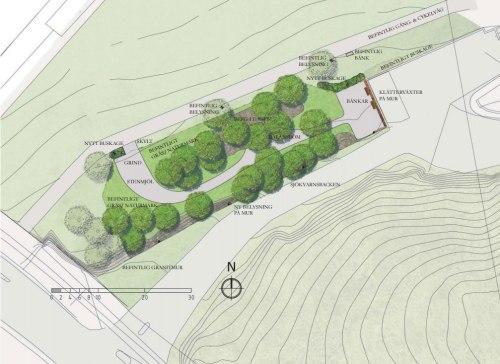 Plan för hundrastgård i Saltsjöqvarn