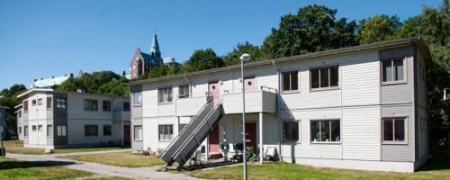 Ungdomsbostäder på Kvarnholmsvägen i Finnboda