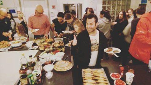 Matfest på fritidsgården Glada Henkan på Henriksdalsberget