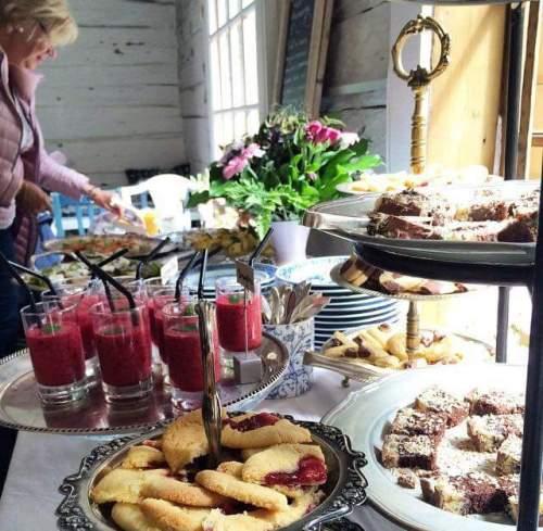 Afternoon tea på Svindersviks brygghus