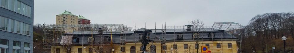 Danvikens hospital får skyddstak