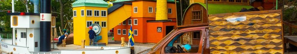 Lekparken Lilla Kvarnholmen i Nacka