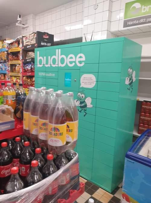 Budbee box på Danviksklippans livs