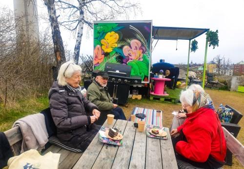 Magnoliadagen på Café Vy på Henriksdalsberget