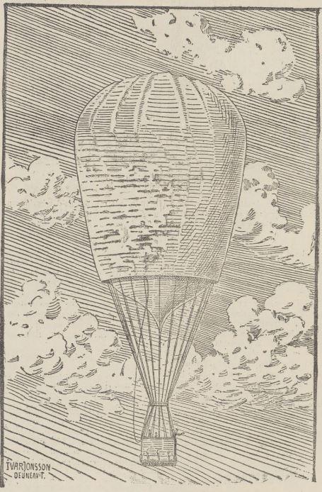 Luftballongen Svenske enligt tecknaren Ivar Jonsson