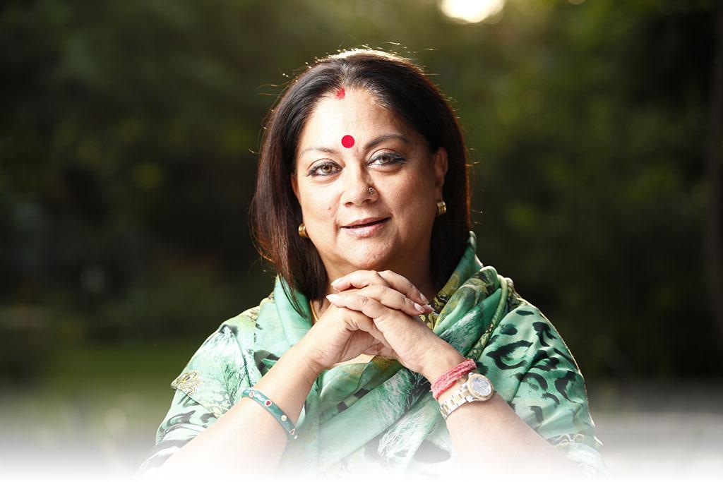 Vasundhara Raje Interviews