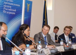 chief minister attends investor meet in moscow