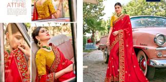Yashita Kavya Vol1 1001-1011 Fancy Party Wear Saree Collection