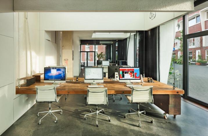 office Heldergroen studio