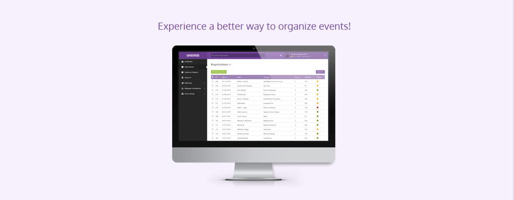 Weemss – по-добрата платформа за събития