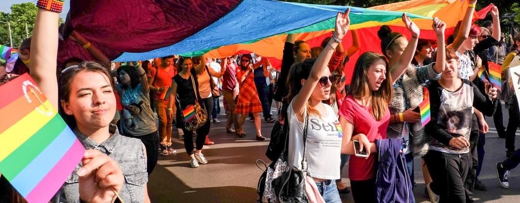 След Sofia Pride