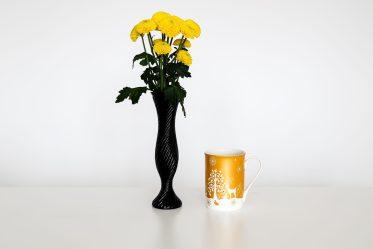 flowers coffee